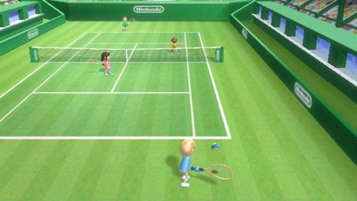 """""""Wii Tennis"""""""