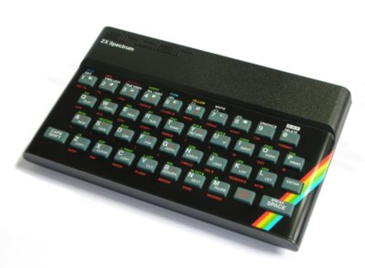 The original ZX Spectrum was never designed to compose masterpieces