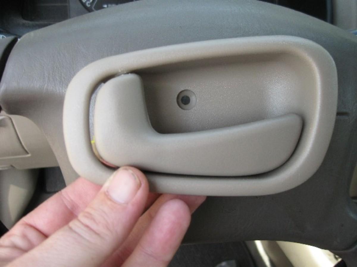 Door Handle On A Toyota Corolla
