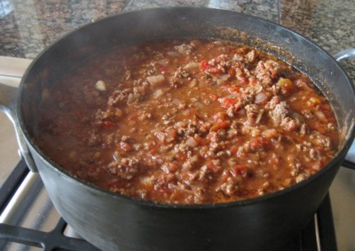Delicious Homemade Chili With Pork and Beef Recipe