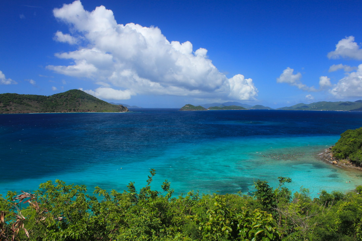 The top ten caribbean island vacation destinations for Top 10 best vacation spots in the us