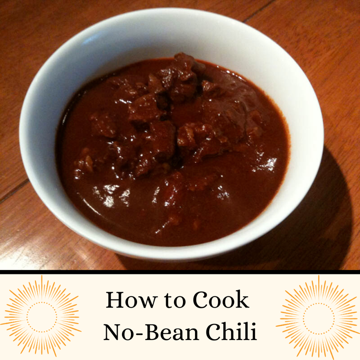 The World's Best No-Bean Chili