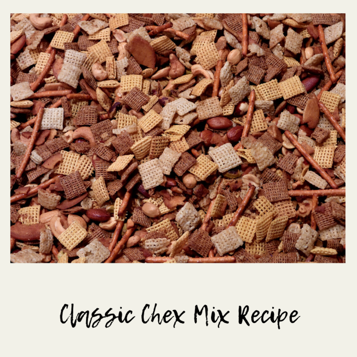 Classic Chex Mix Recipe