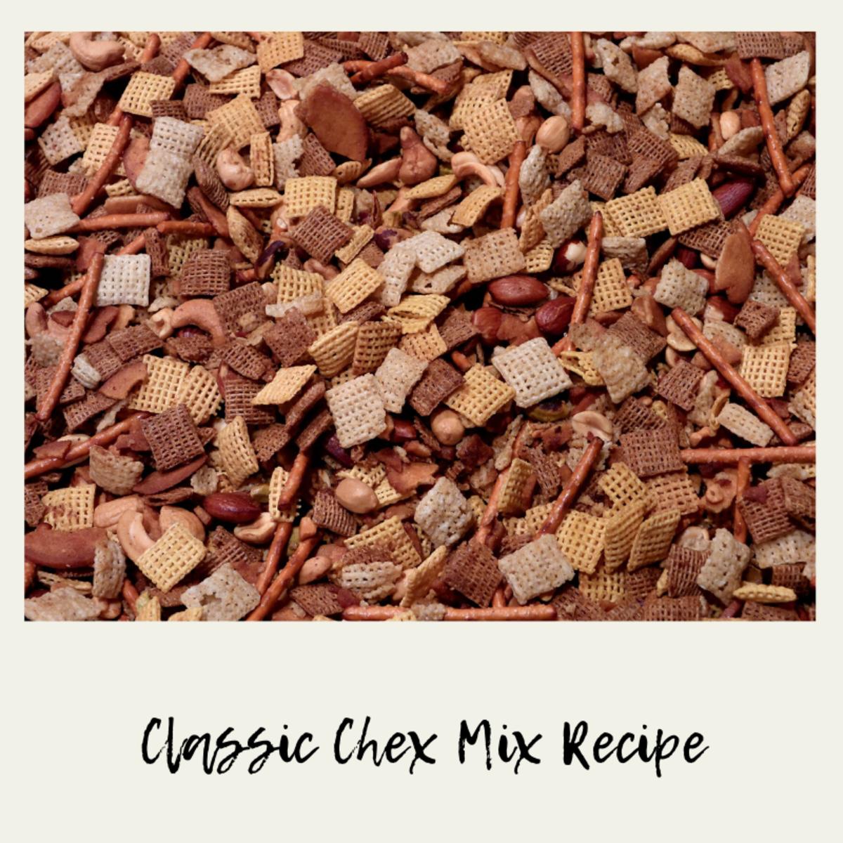 Classic Chex Mix Recipe