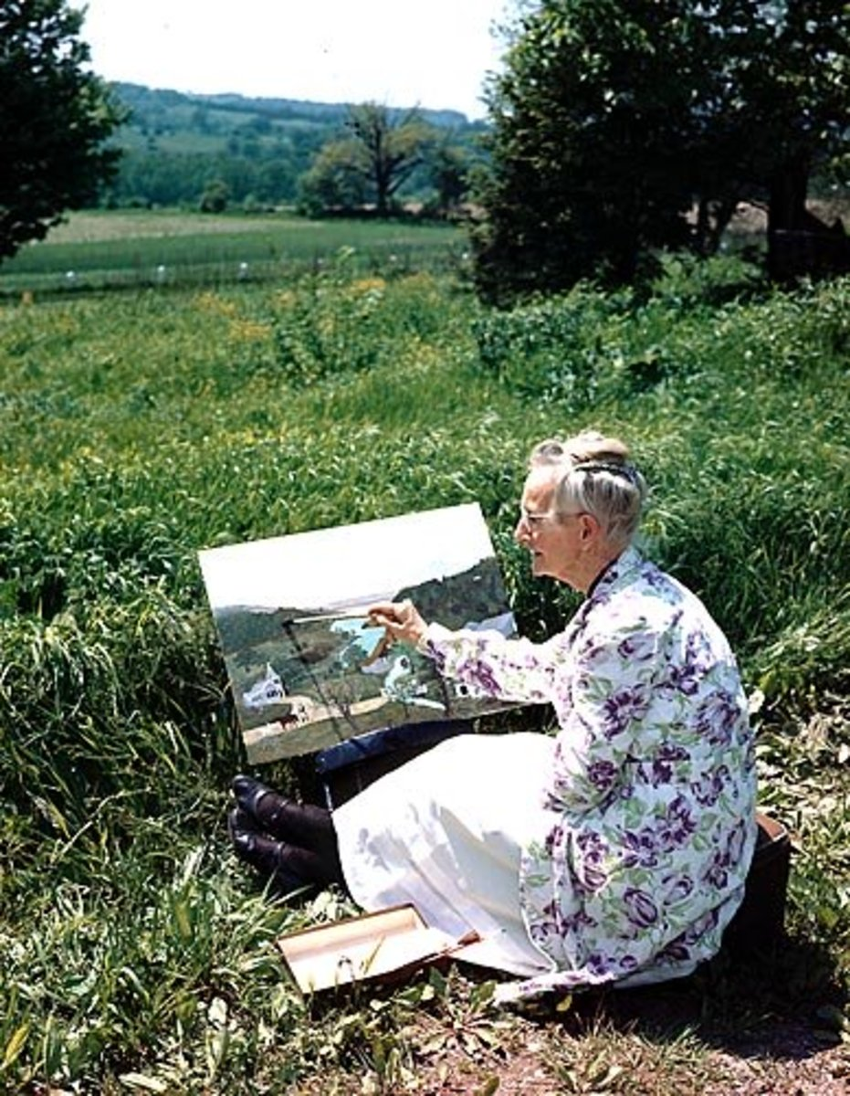 The Artist, Grandma Moses and Her Paintings