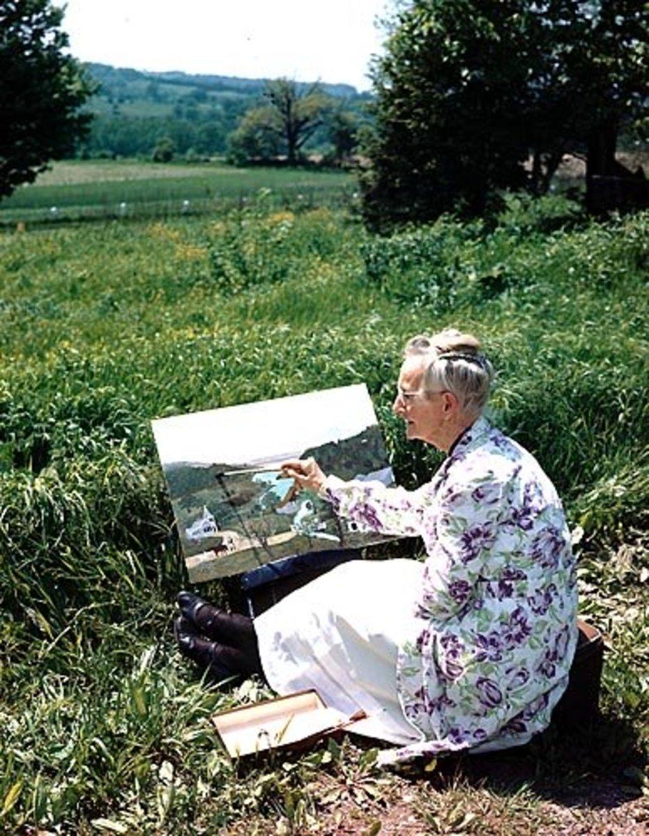 Artist Grandma Moses