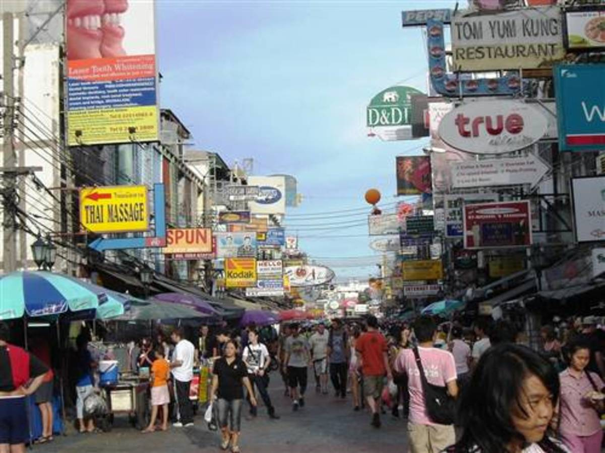 Khao San Road Hostels and Hotels