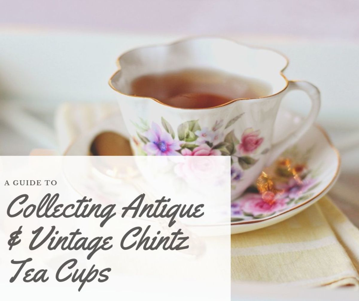 An English Chintz is an all-over, tightly grouped, multi-colored pattern, usually floral in nature.