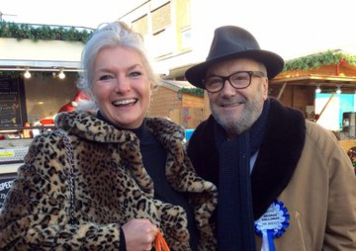George Galloway is standing as an independent, pro-Brexit candidate in the West Bromwich East constituency in the forthcoming General Election in the UK.