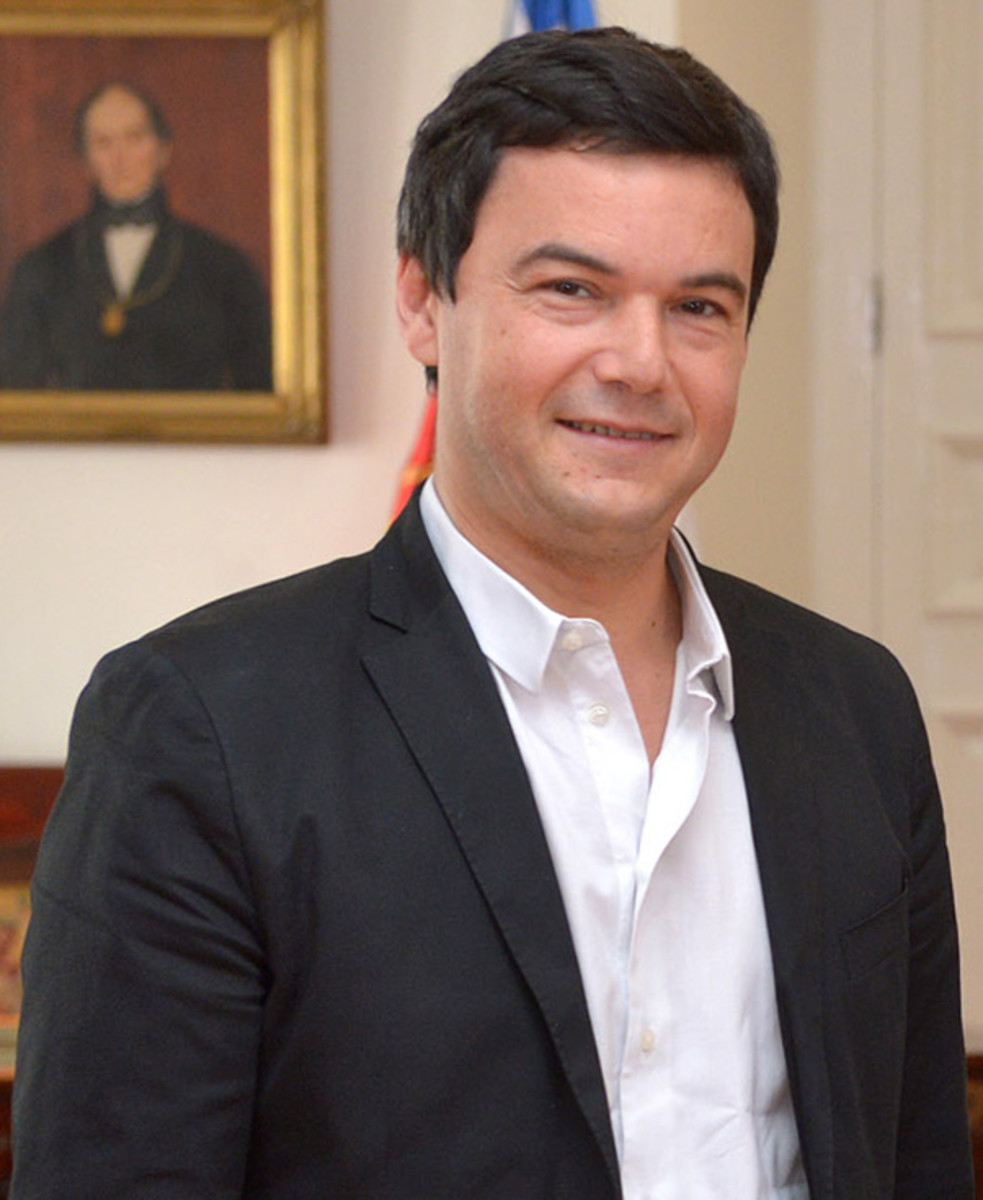 Thomas Piketty in Santiago, Chile, January 2015