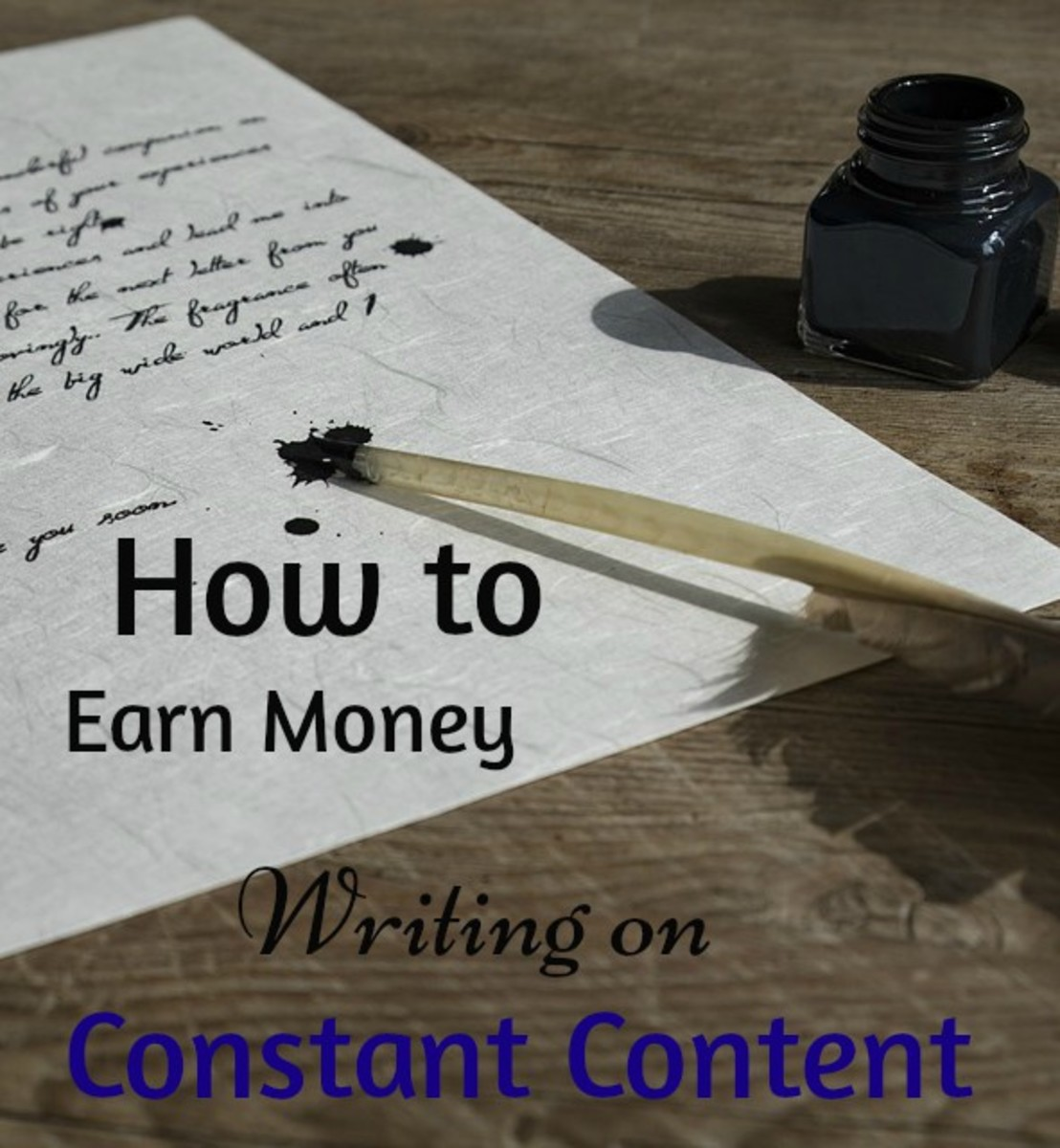 You can earn a little side income by using Constant Content!
