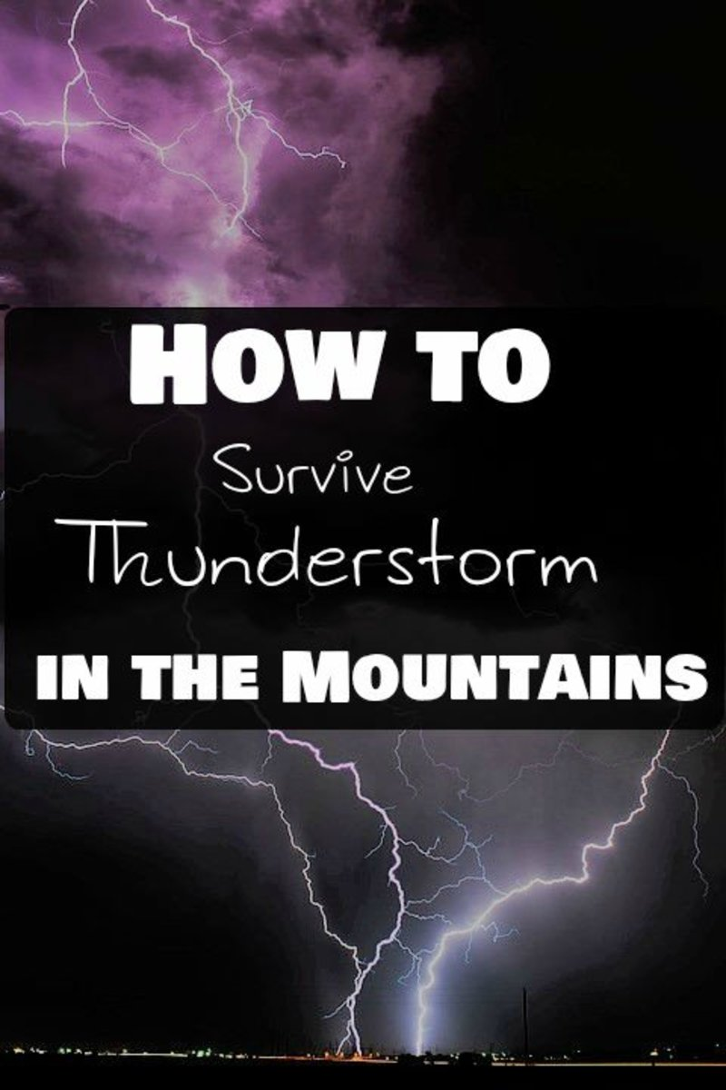 Thunderstorms in the Mountains: Safety Rules