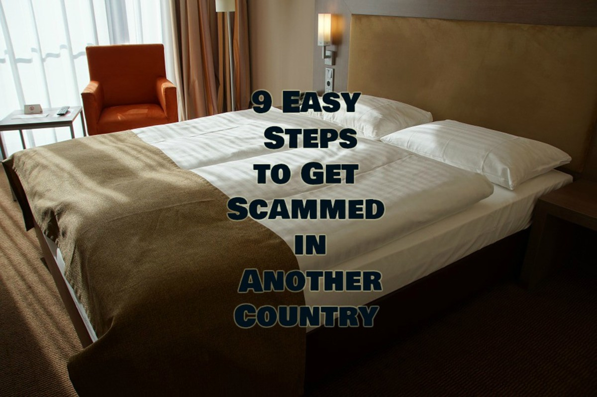 9 Easy Steps to Get Scammed in Another Country