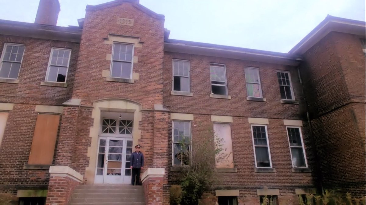The abandoned building where it all began.  'Prom Night' (1980)