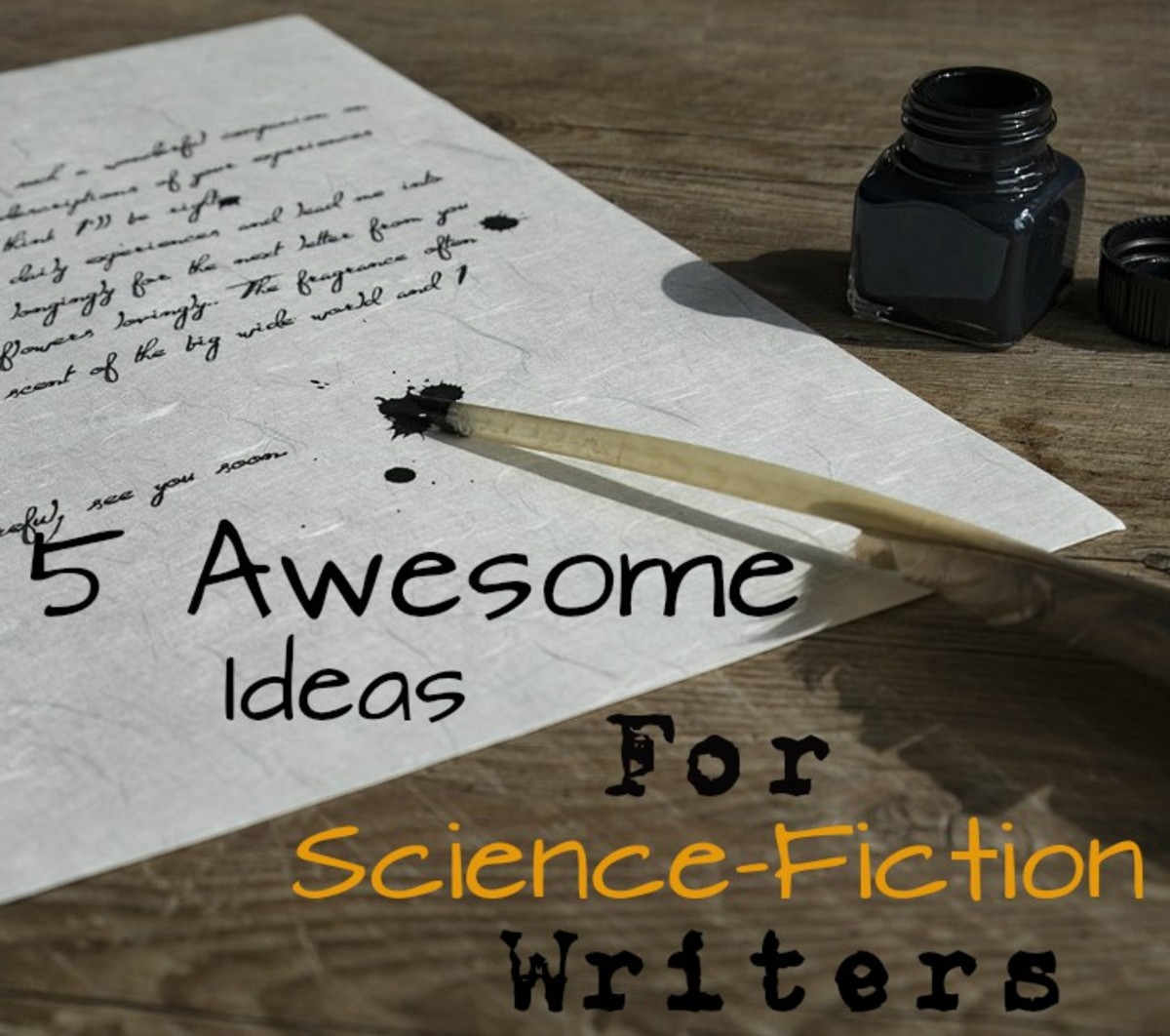Writer's Block? 5 Ideas for Science-Fiction Writers