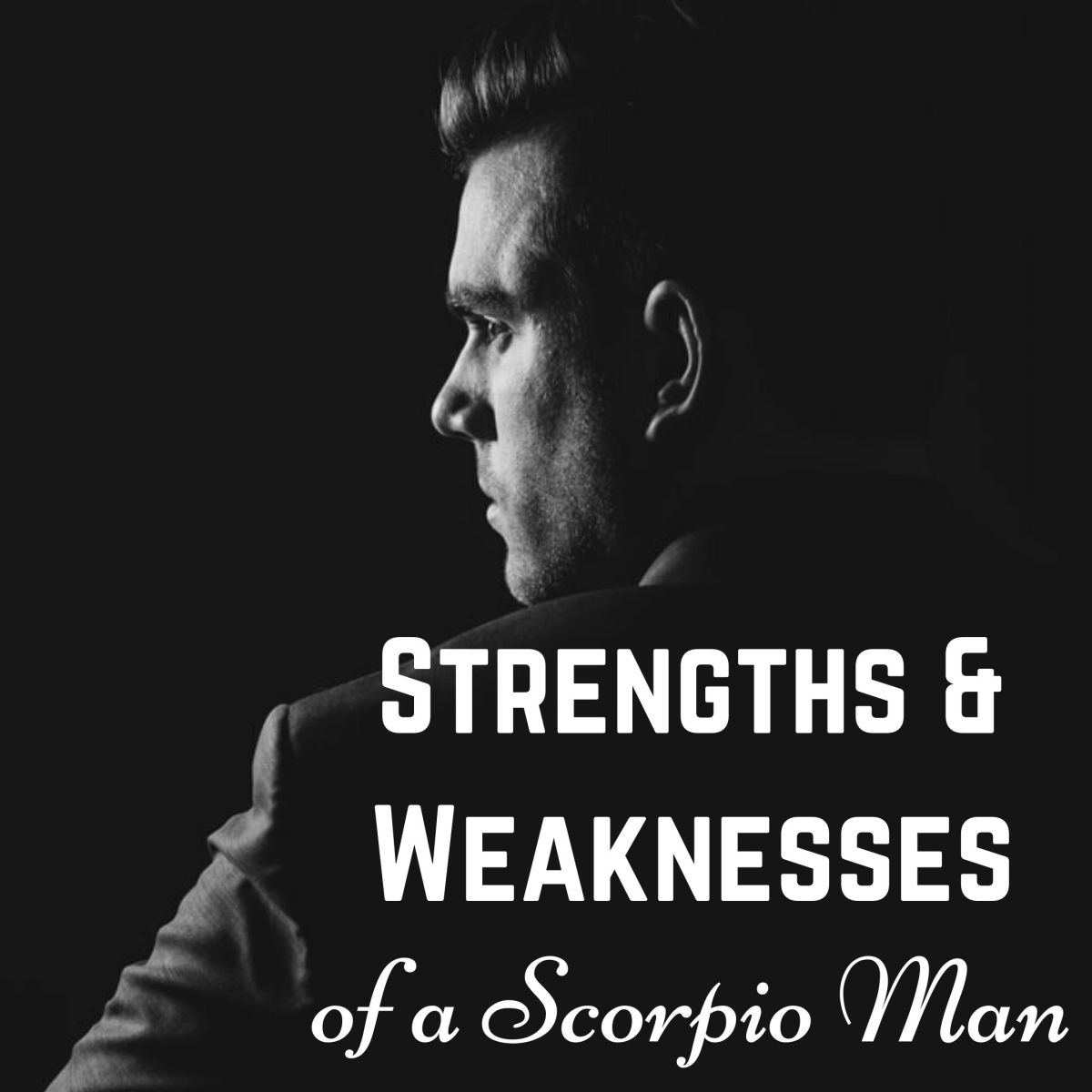 Scorpio men are known for their intensity, mystery, and charm.