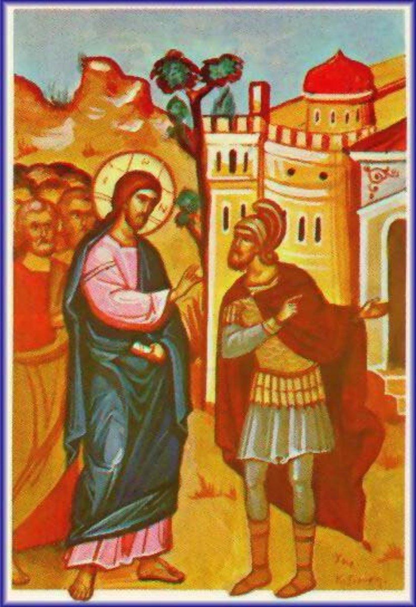 A Short Exegesis on Luke 7:1-10 or the Centurion's Servant