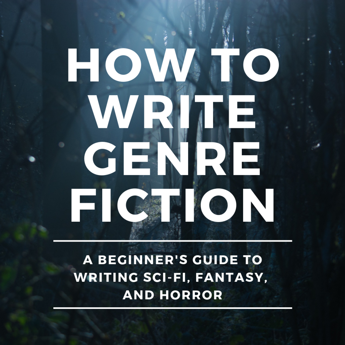 If you want to write genre fiction, this is the place to start.