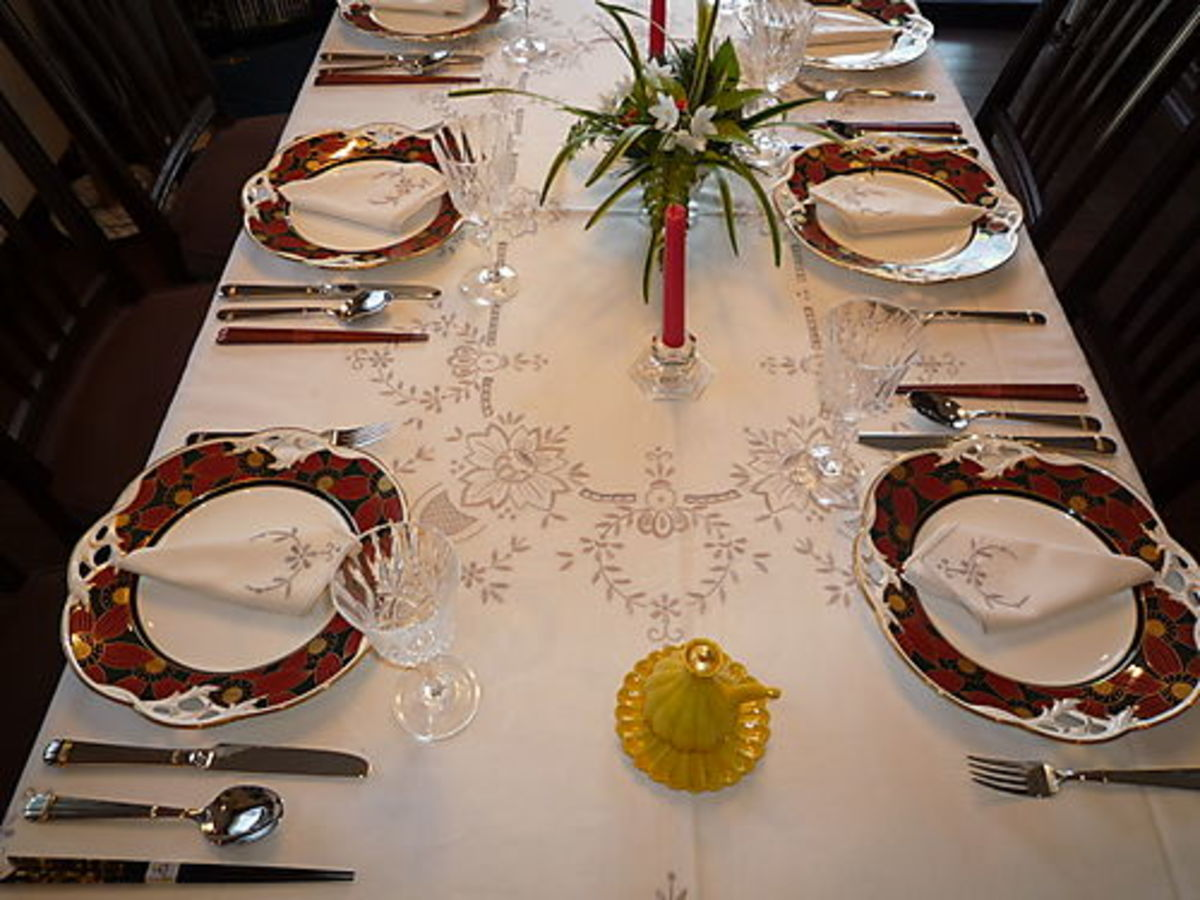 Kinds Of Table Setting : Here is a basic set of rules for table setting. This can be used ...