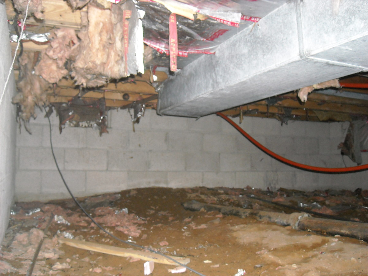 Insulating Duct Work With Spray Foam Insulation