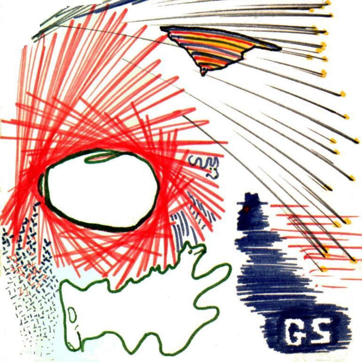 The unconscious mind can communicate through doodles.