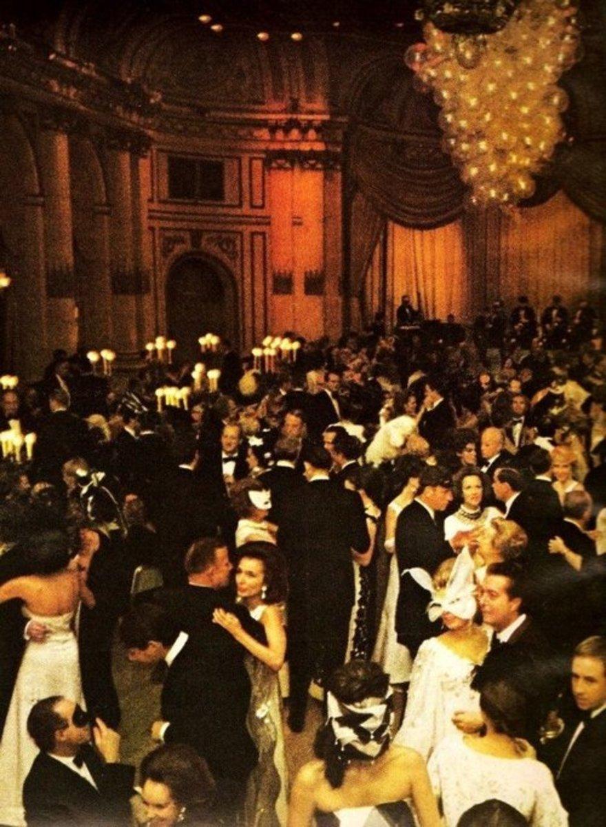 Truman Capote's Black And White Ball