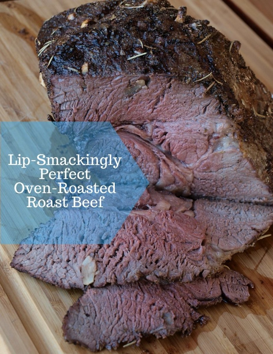 This roast beef recipe is lip-smackingly succulent.