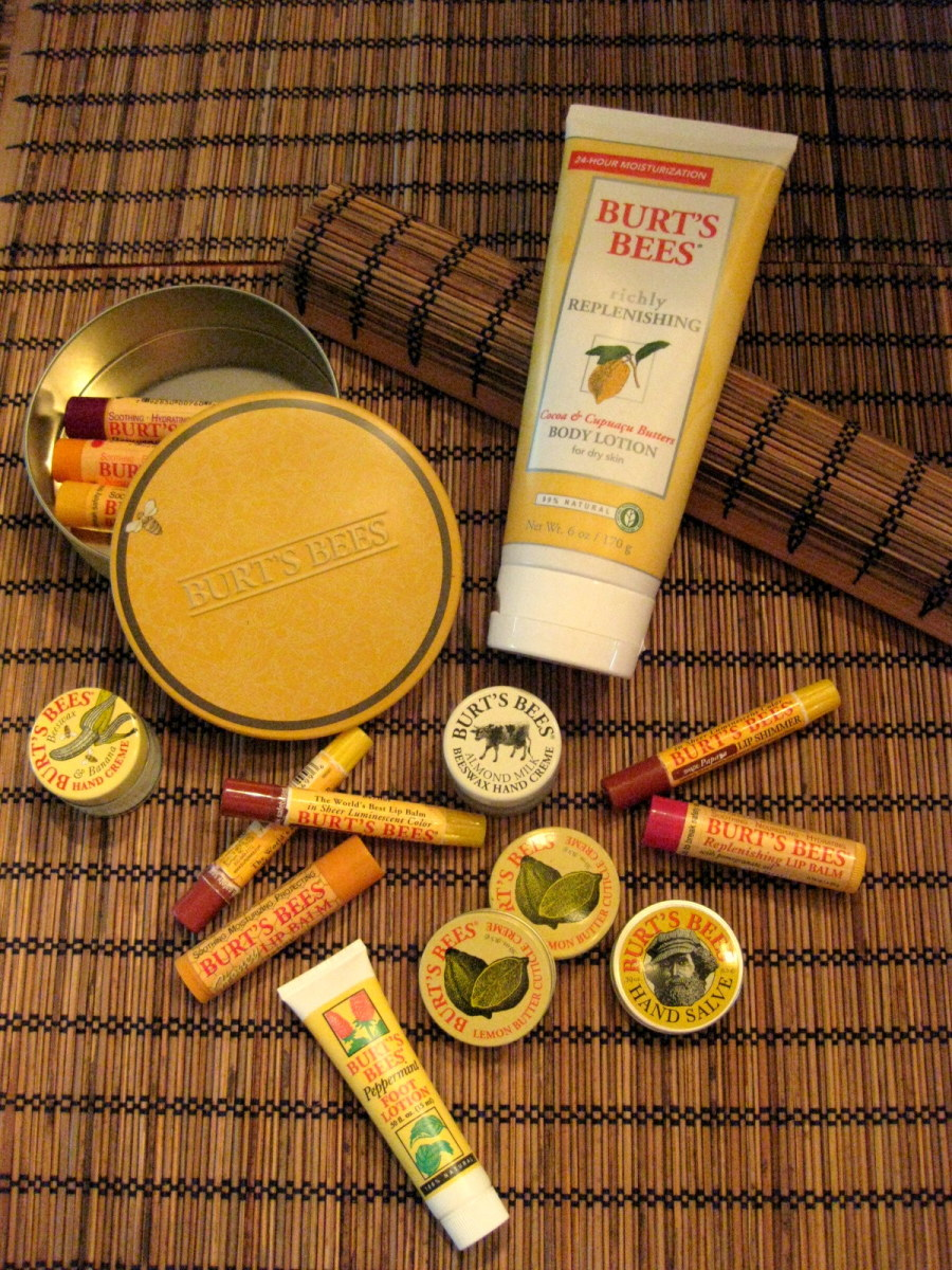 Burt's Bees: My Review of Their Earth-Friendly Products for the Whole Family