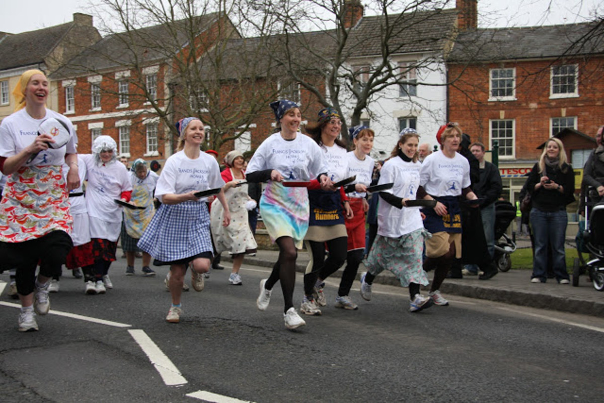 Pancake Day Races on Shrove Tuesday: A Bizarre British Custom (Plus English-Style Pancake Recipe)