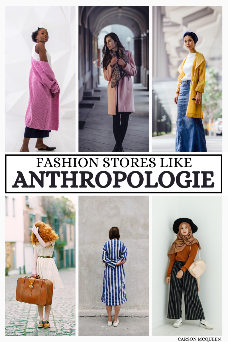 10 Stores Like Anthropologie: The Best Places to Find Boho-Chic Clothing