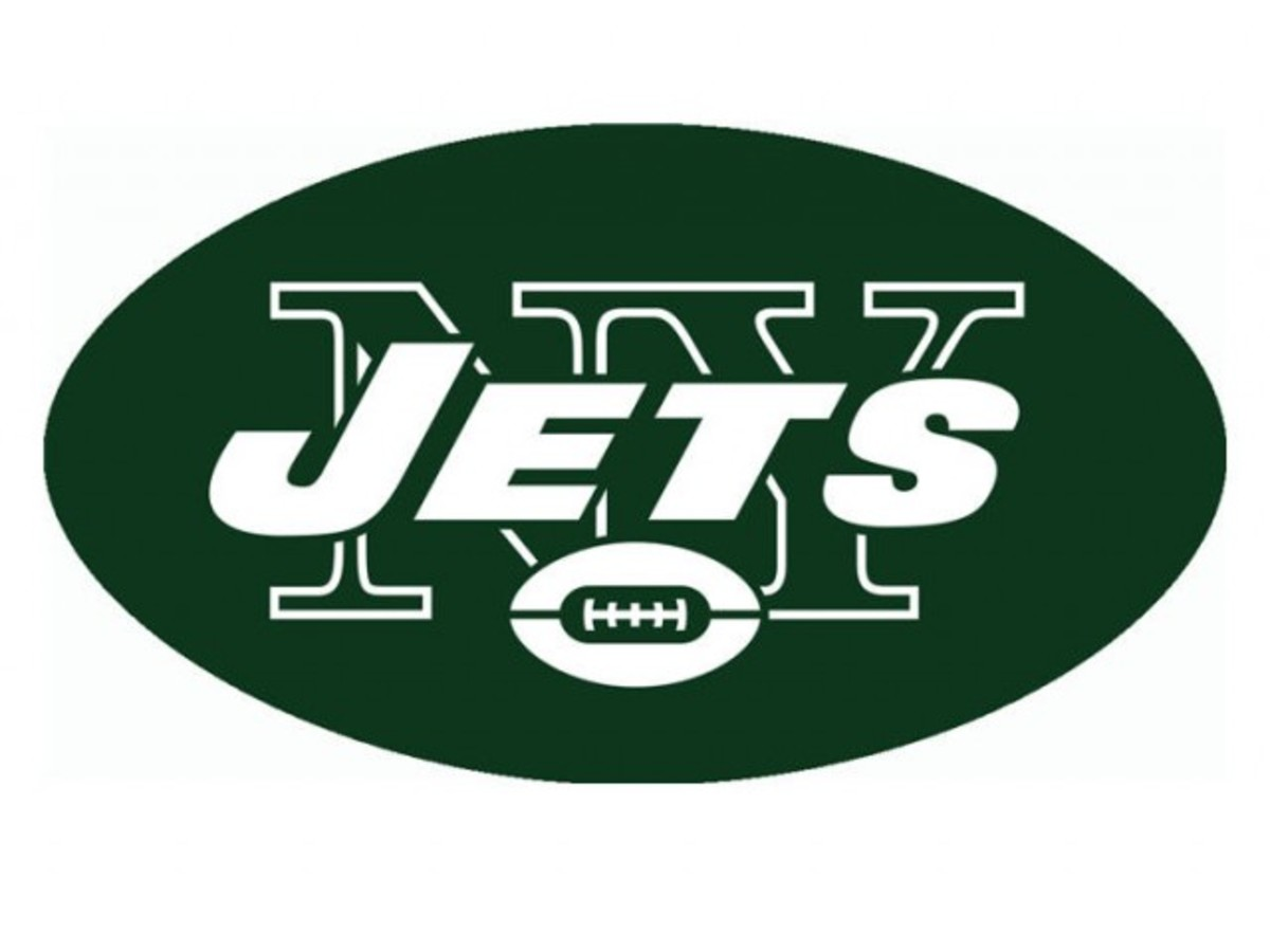 The New York Jets logo.