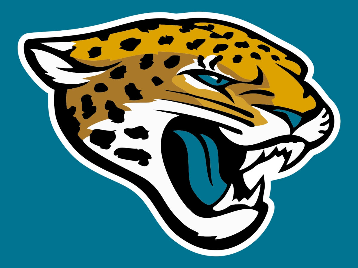 The Jacksonville Jaguars logo.