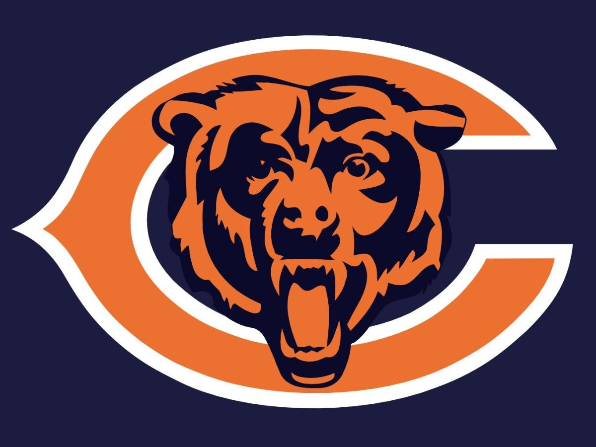 The Chicago Bears logo.