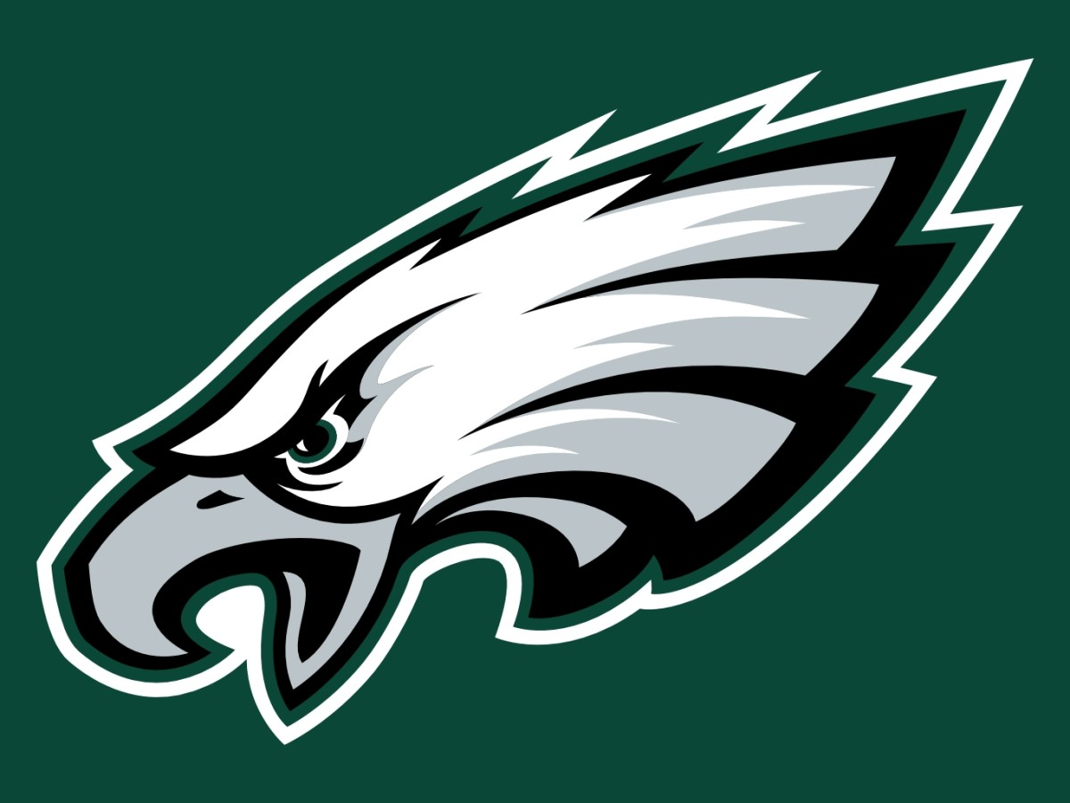 The Philadelphia Eagles logo.