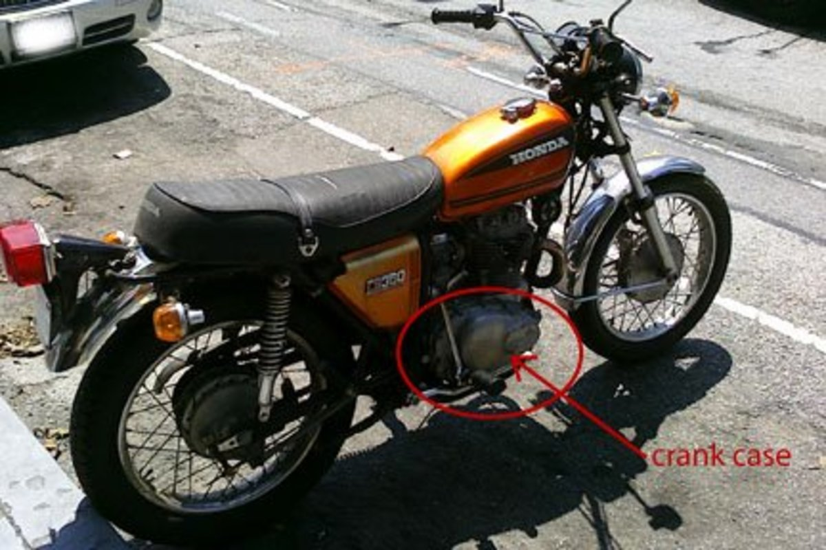 How to Change the Oil on a Honda CL360