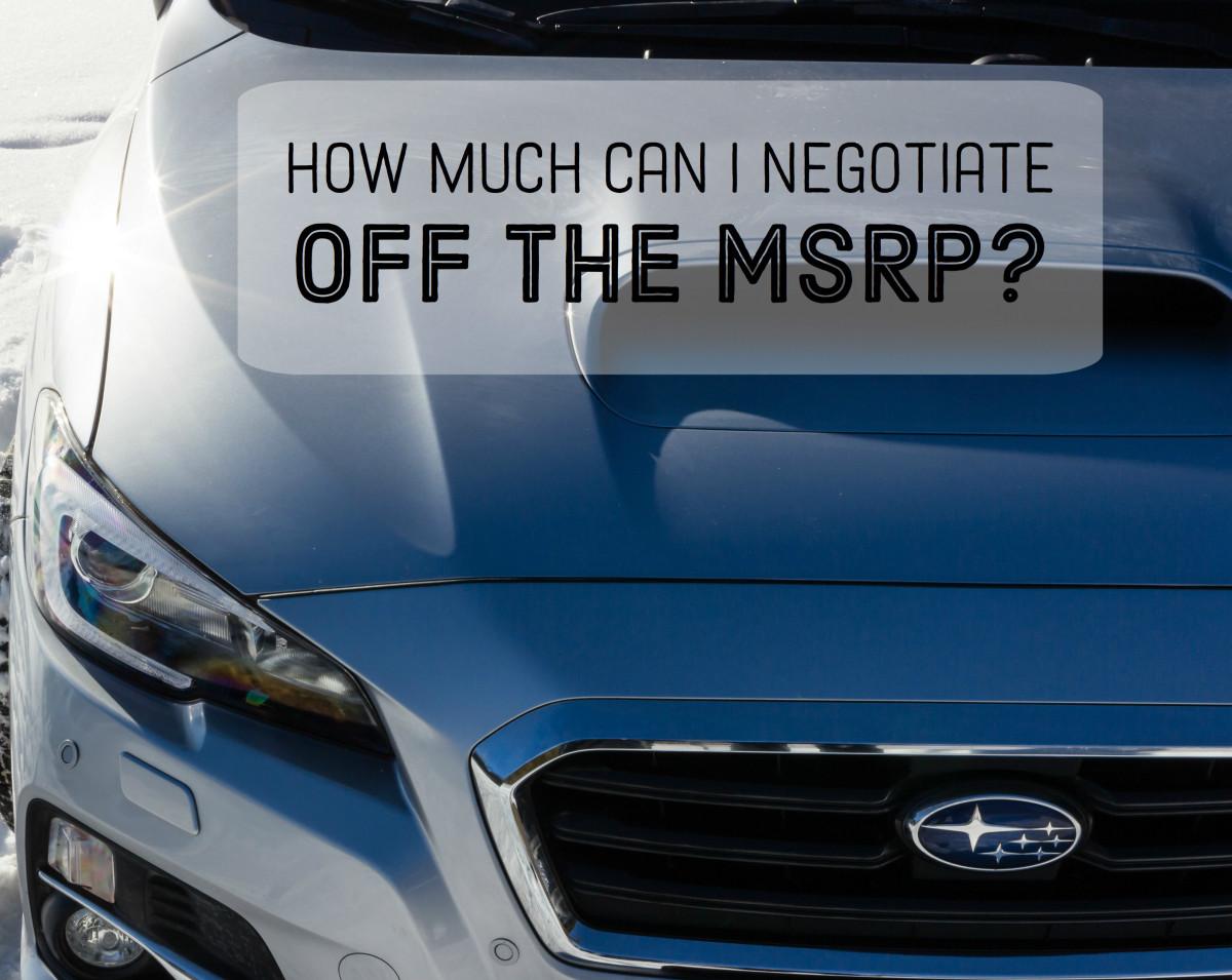 不要羞于谈汽车的价格。汽车经销商期待它!GydF4y2Ba