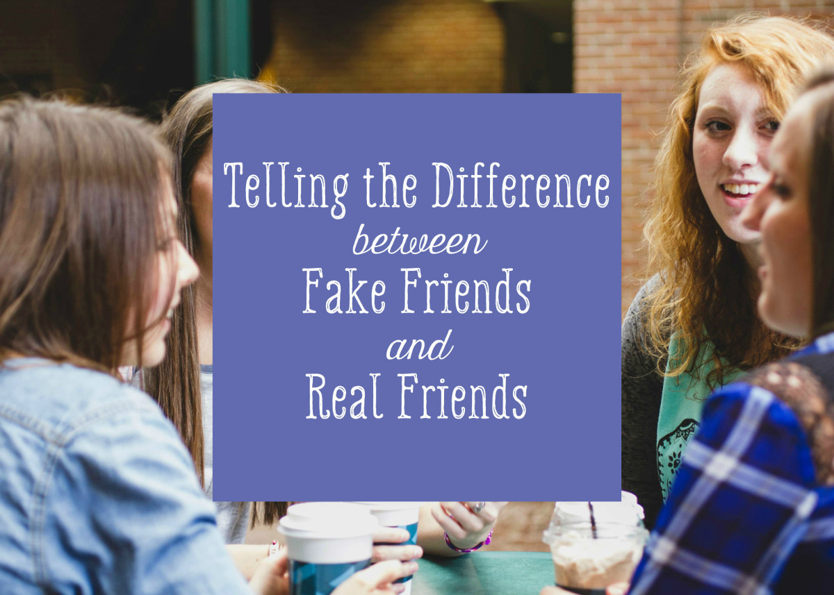 What's the Difference Between a Fake Friend and a True One