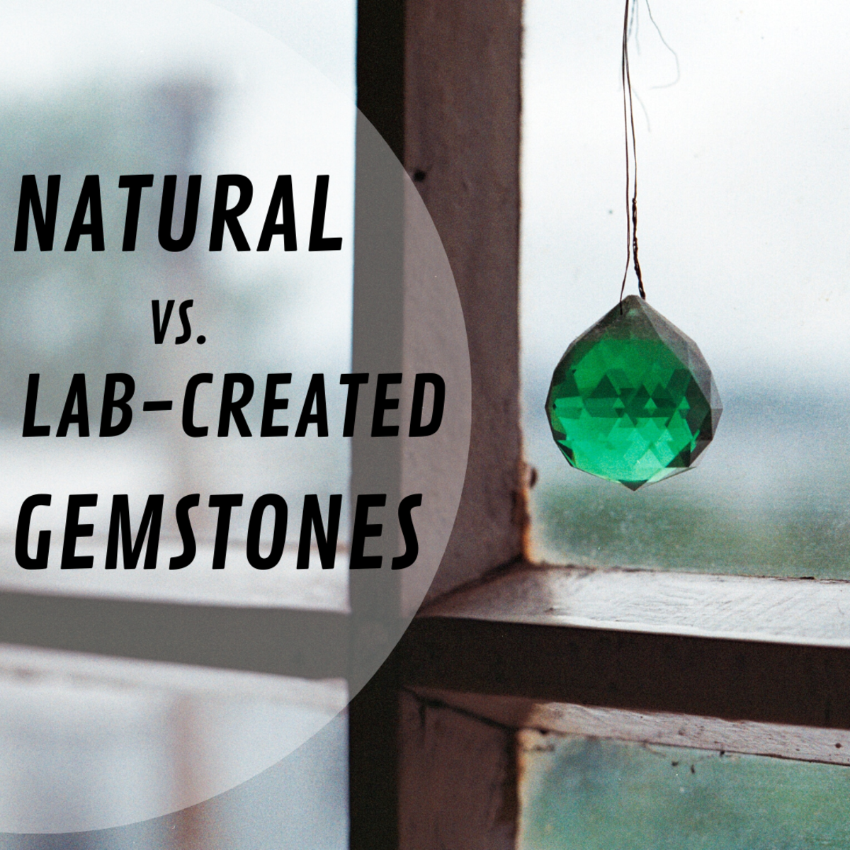 How do you tell apart natural vs. lab-created rubies, sapphires, and emeralds?