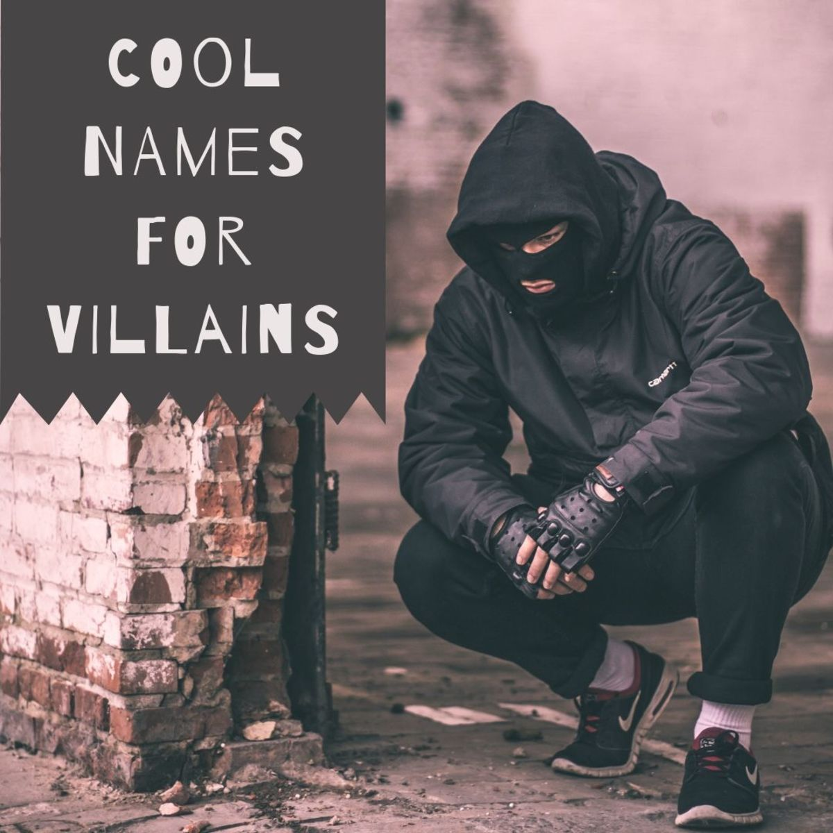 Here you'll find inspiration for your next great villainous character name!