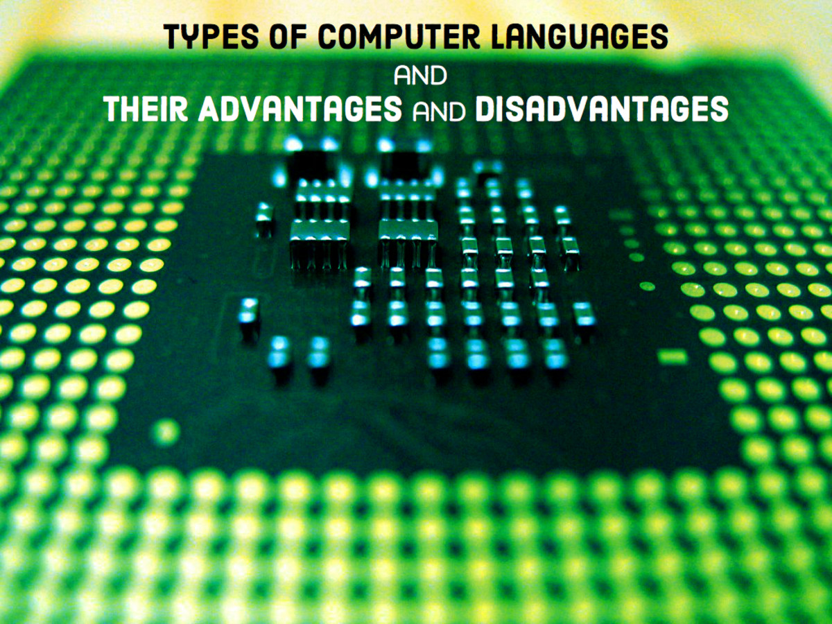 Types of Computer Languages with Their Advantages and Disadvantages