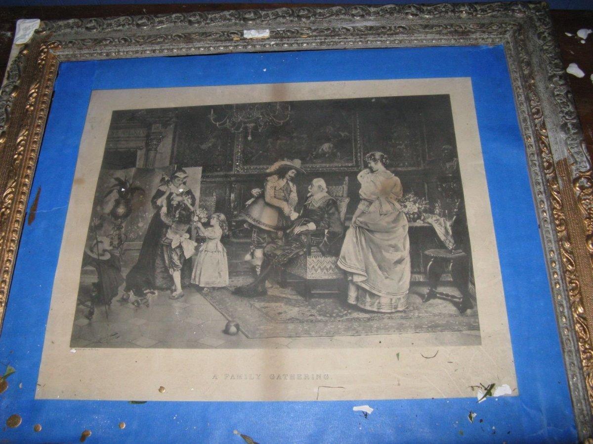A Damaged Plaster Frame