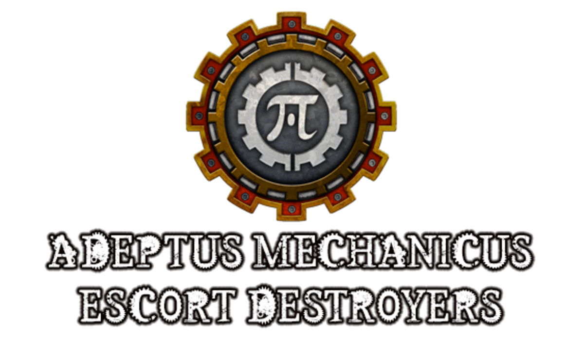 """Battlefleet Gothic: Armada II"" - Adeptus Mechanicus Escort Destroyers [Advanced Ship Guide]"