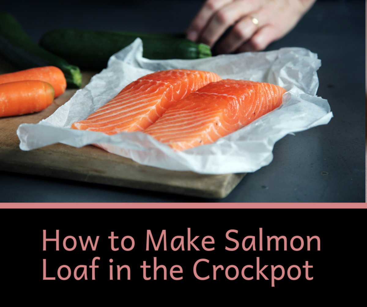 Salmon is a healthy and delicious food. It tastes even better when cooked in a crockpot.
