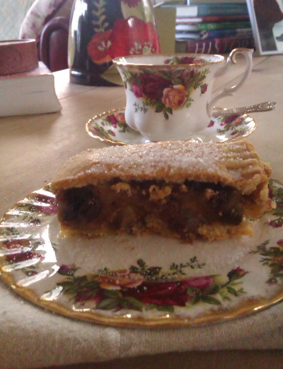 Gur cake is a traditional Irish dessert