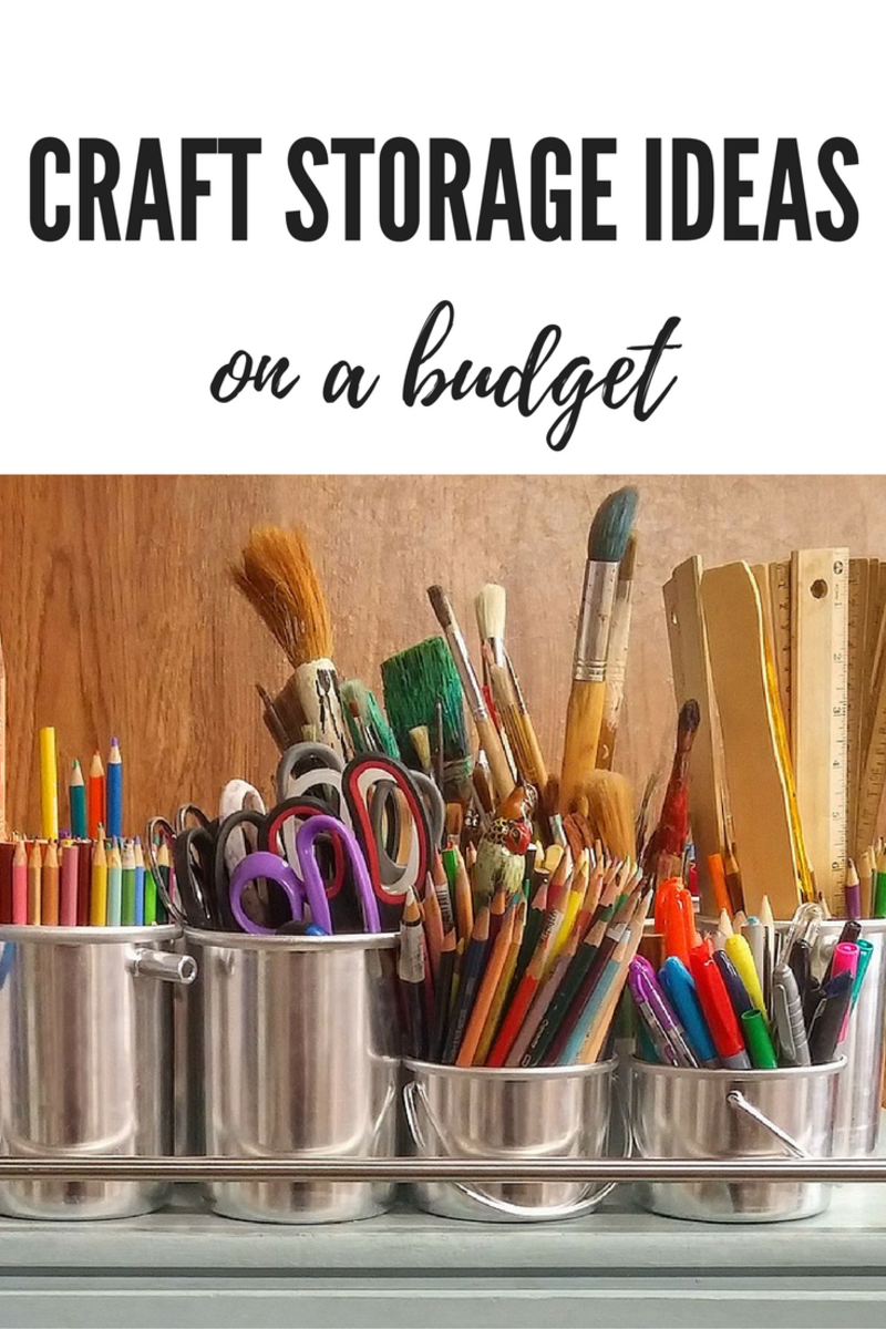 Craft storage ideas on a budget feltmagnet Craft storage ideas