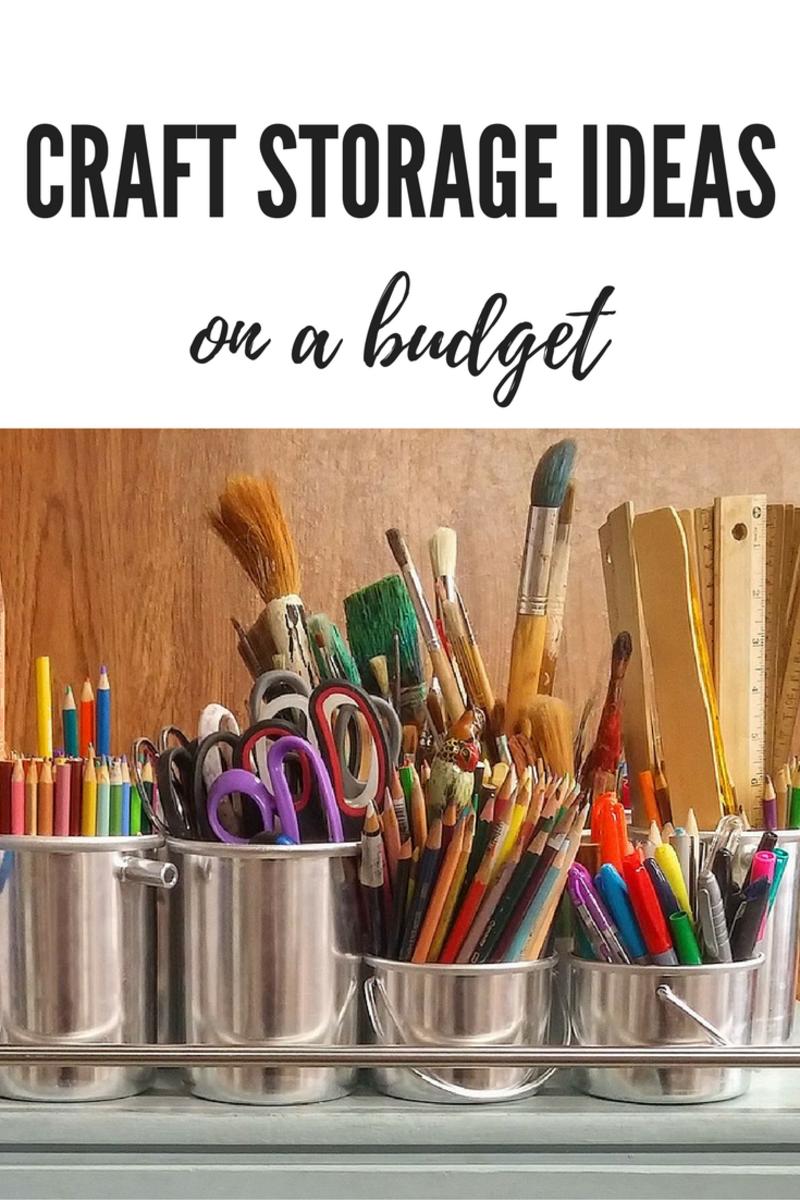 craft storage ideas on a budget feltmagnet. Black Bedroom Furniture Sets. Home Design Ideas