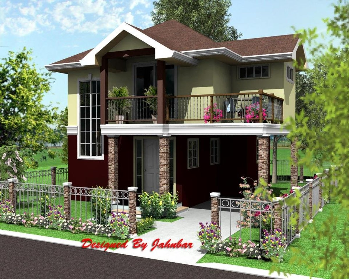 Ludenio home exterior model.