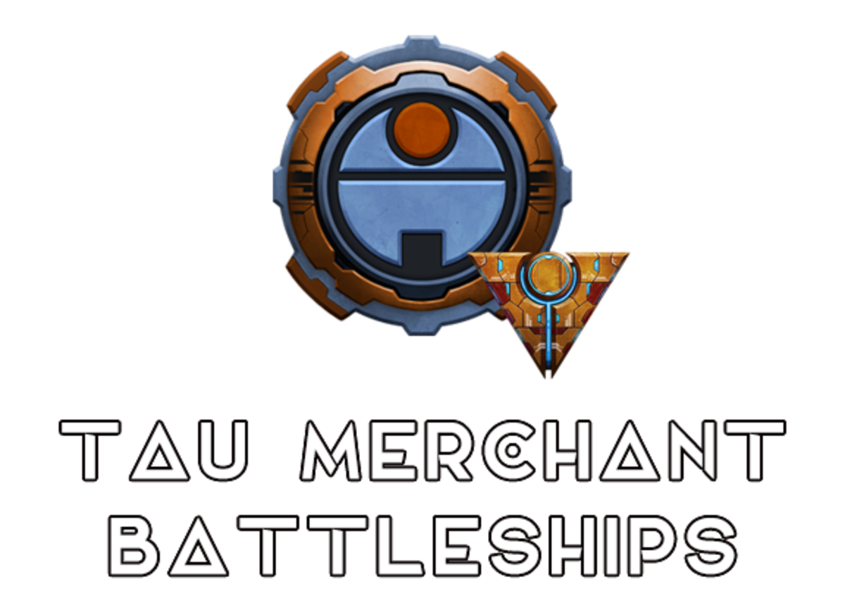 """Battlefleet Gothic: Armada II"" - Tau Merchant Battleships [Advanced Ship Guide]"