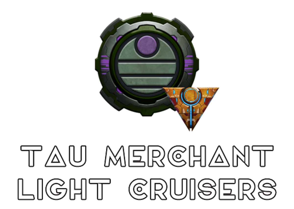 """Battlefleet Gothic: Armada II"" - Tau Merchant Light Cruisers [Advanced Ship Guide]"
