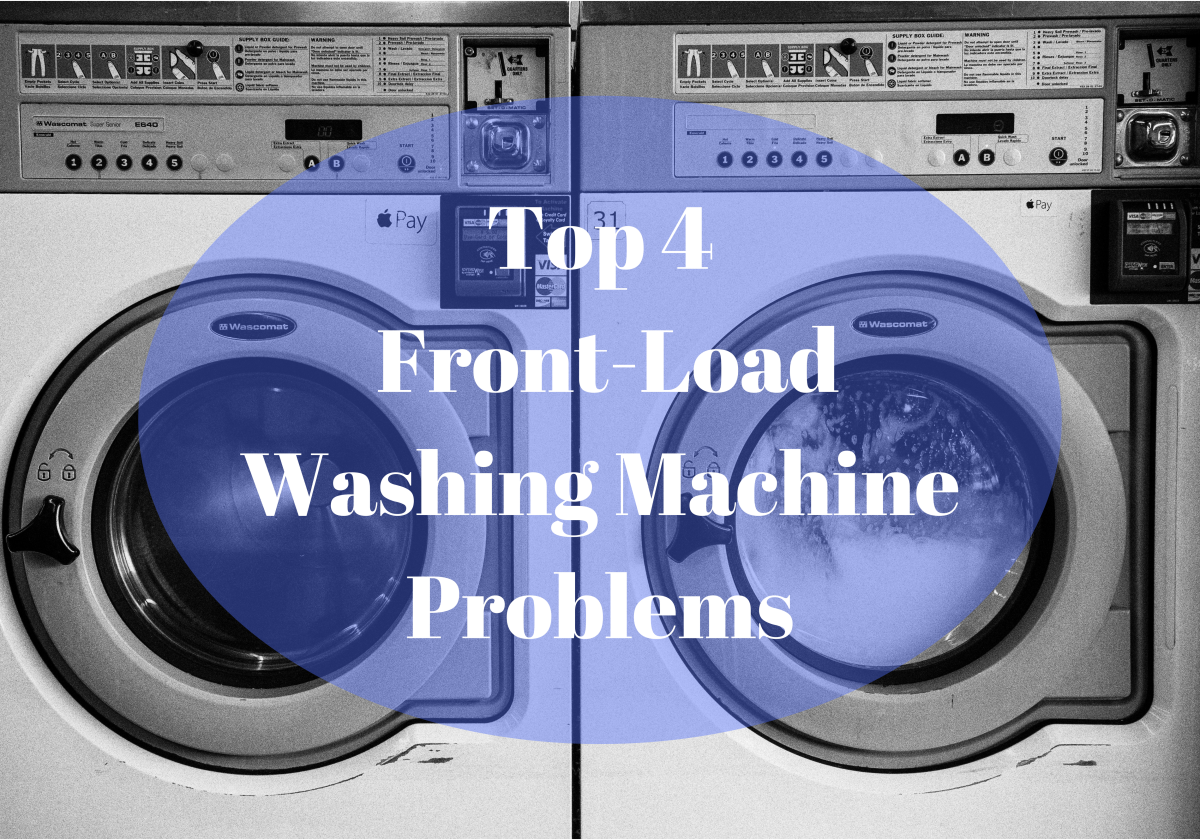These washing machines have so many benefits that they out weigh some of the typical problems.